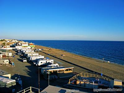 view from Hotel El Mirador, Puerto Penasco, Mexico.