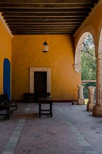 yellow patio-