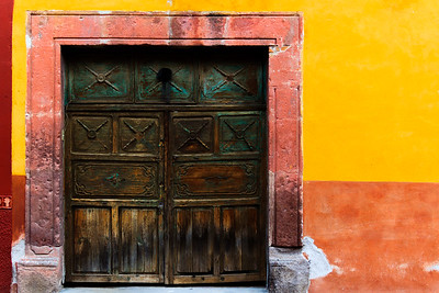 Doors of San Miguel De Allende, Mexico