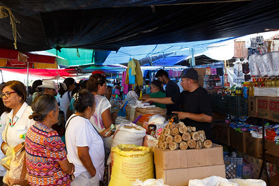 The El Tianguis Tuesday Market In San Miguel de Allende, Mexico