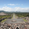View from the Moon Temple, Teotihuacán