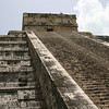 Steps on the Pyramid, Chichen Itza