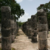 Pillar Row into the Distance, Palenque