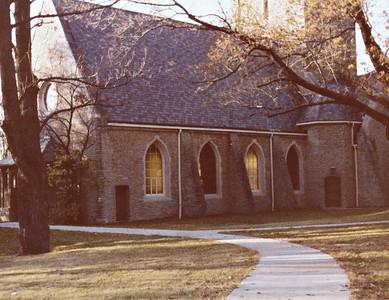 Kumlar Chapel November 1980