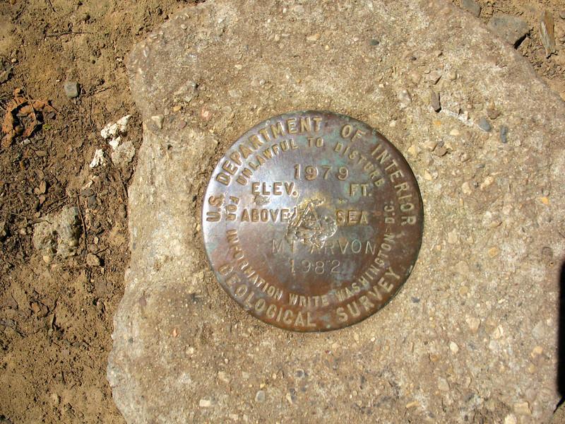 Baraga - Mount Arvon - 1979' - Michigan's Highest Point