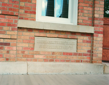 Central Hall Nameplate