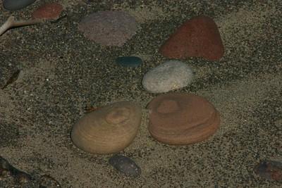 Lake shore rocks