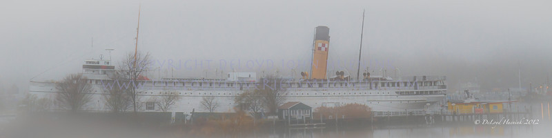 MEMORIES:  Is anything more beautiful than an early fog on Lake Michigan?
