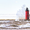 Fall in Michigan    HDR, lake michigan, lighthouse, South Haven, waves, wind_-2