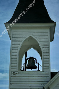 MG_7746 Belltower of the Church on Mackinac Island, MI
