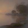 Fog in Saugatuck Harbor