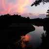 Sunset on the Kalamazoo River outside of Saugatuck