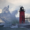 Lake Michigan Wind at South Haven, MI