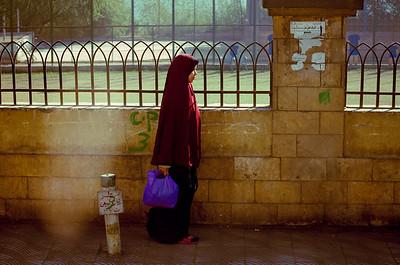 A street scene in Cairo.