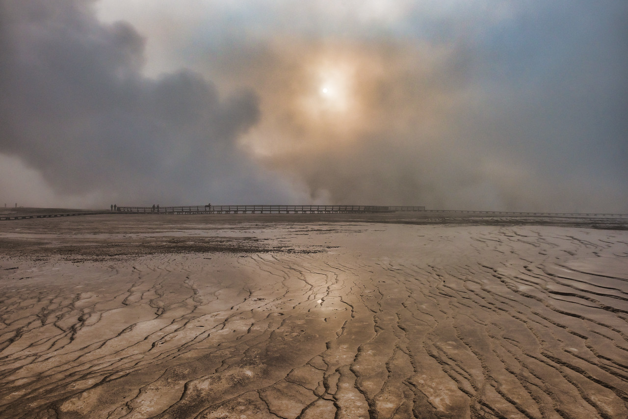 Grand Prismatic - Midway Geyser Basin, Yelllowstone National Park - Part 6