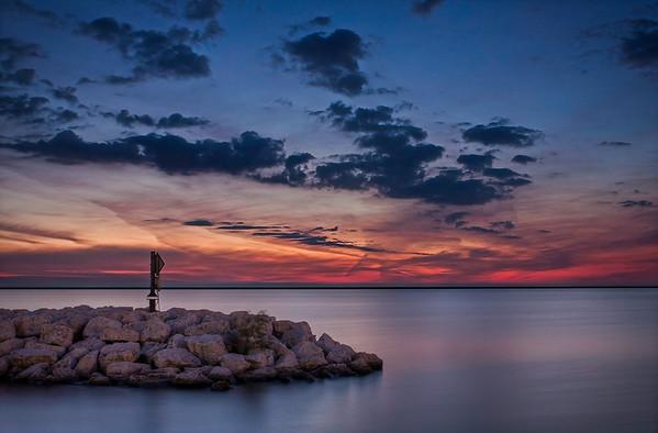 lake michigan sunrise_1