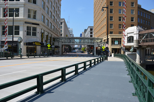 Wisconsin Avenue. The main street through downtown Milwaukee.