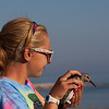 Releasing a banded Red Knot