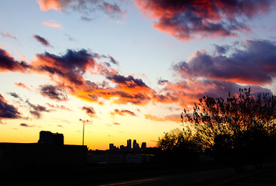 Sunset Minneapolis