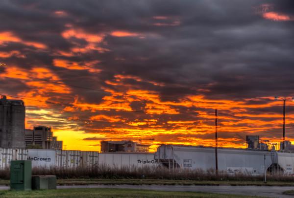 Sunset Minneapolis