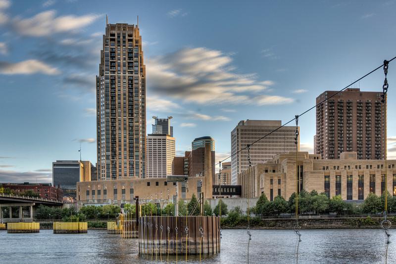 Minneapolis from Nicollet Island
