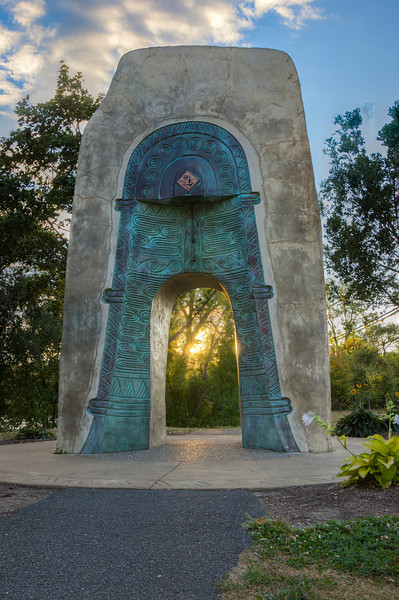 Twin Bells Monument On Nicollet Island