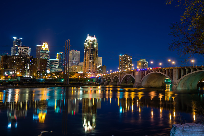 Minneapolis City Lights