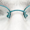 Blue Glasses Eyes