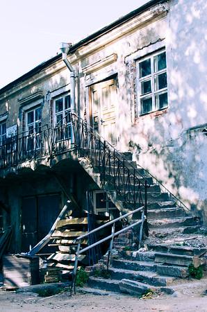 Old building in Minsk, Belarus