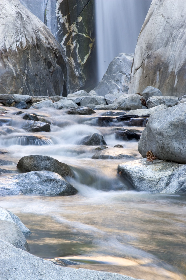 Tahqhitz Canyon Water Fall and Stream, Palm Springs, California 2006