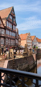 Historische Altstadt als Filmset / Historic city-centre as a movie set