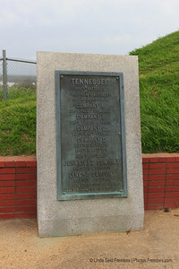 Another memorial from the war up on Fort HIll in Vicksburg, MS - March 2012