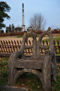 Unusual tombstone