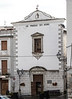 Very simple facade of the Chiesa di San Giacomo.  It was originally constructed in the 13th century.