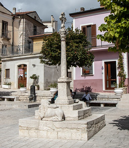 A  different piazza.  The monument says 1660 restored 1825.