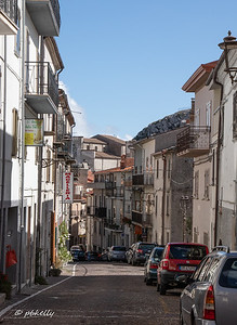 View down one of the main streets.