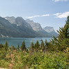 St. Mary Lake and Wild Goose Island - Glacier National Park