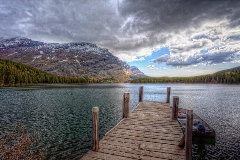 Swiftcurrent Lake Dock