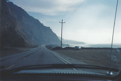 On the way to Monterey via the Pacific Coast Highway.