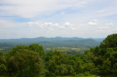 Shenandoah Valley on the way to Monticello.