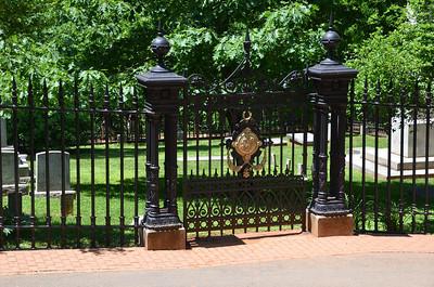 Jefferson family graveyard.