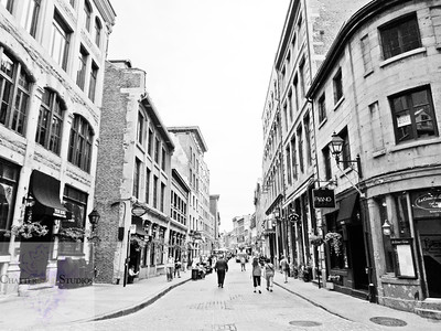 Walking Through Old Montreal