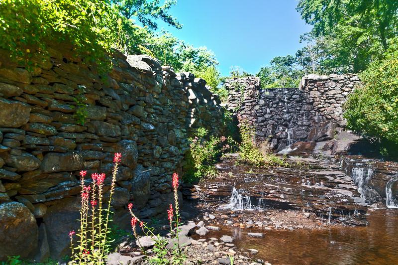 Near emty mill waterway feed. HDR