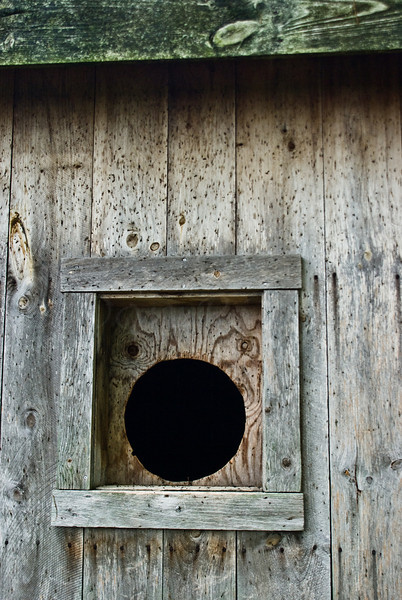 Bat house Bat entry hole<br /> <br /> From the Worcester Photographers Meetup Click & Shoot of 6/28/08.