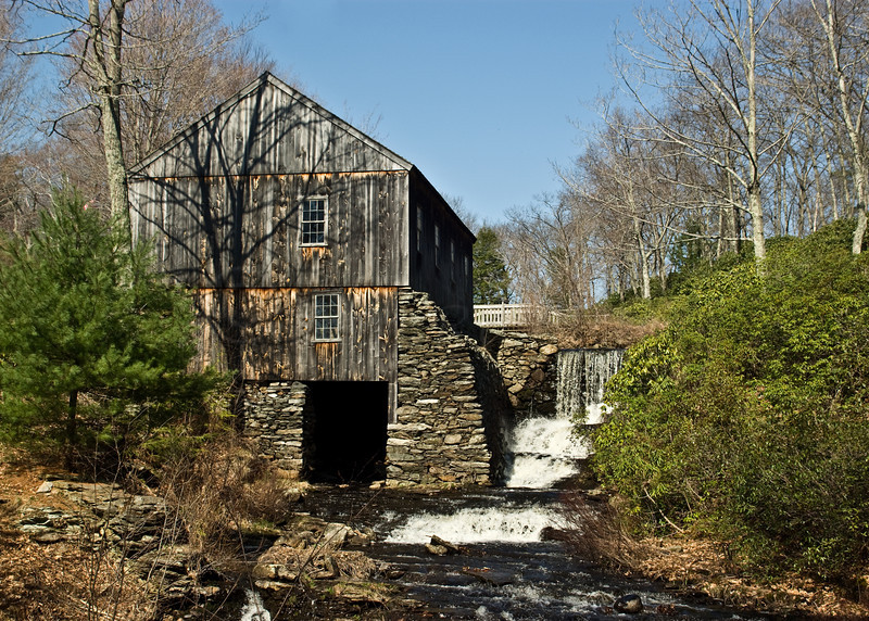 Sawmill in Spring