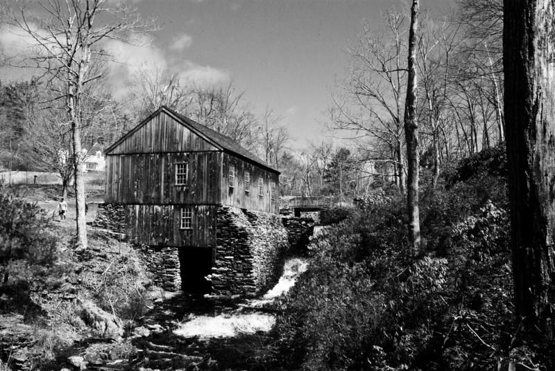 Old Sawmill, Moore SP, Paxton, MA B&W