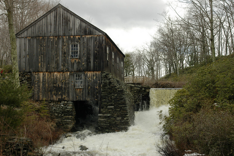 Mill falls in spate! Moore SP