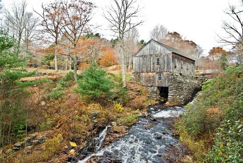 Sawmill from Artist's Vista
