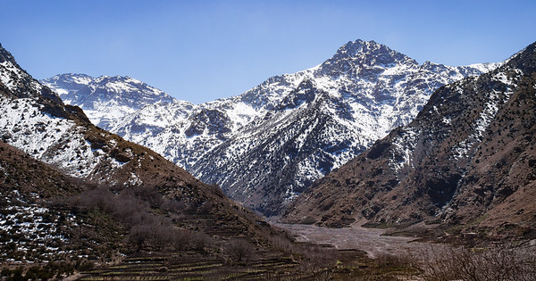 The Atlas Mountains