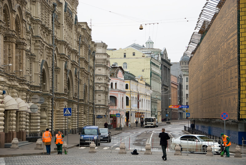 Street near Red Square